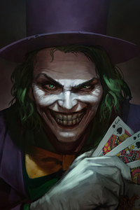 1280x2120 Joker With Cards