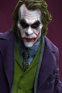 Joker With Knife 4k