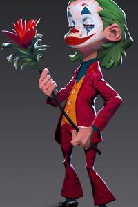 1440x2560 Joker With Rose