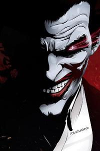 1242x2688 Joker X Anime 4k
