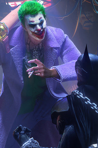 750x1334 Joker X Batman 4k