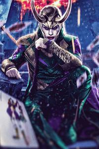1242x2688 Joker X Loki