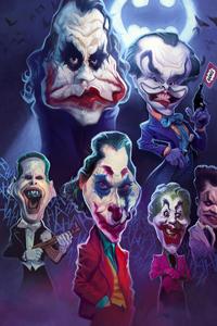 Jokers Face Art