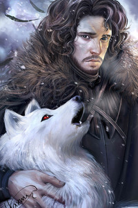 320x480 Jon Snow Arts