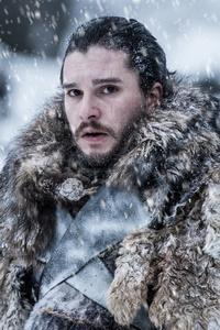 540x960 Jon Snow Beyond The Wall Game Of Thrones 4k