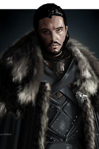 Jon Snow Game Of Thrones Digital Art
