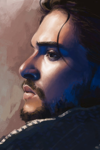 Jon Snow Game Of Thrones Season 8k Art