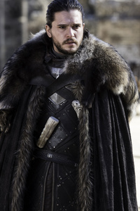 720x1280 Jon Snow Kit Harington Game Of Thrones Season 5