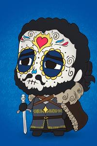 Jon Snow Minimalism 4k