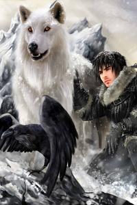 Jon Snow Targaryen 5k