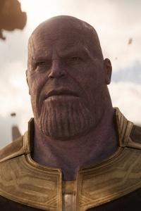 Josh Brolin As Thanos In Avengers Infinity War 2018