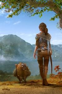 Journey With Little Friend 4k