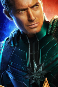 Jude Law As Star Lord Commander In Captain Marvel