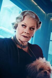 320x480 Judi Dench As Princess Dragomiroff In Murder On The Orient Express 2017