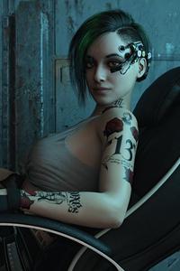 1440x2960 Judy Alvarez In Cyberpunk 2077 4k