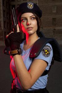 Julia Voth As Jill Valentine Resident Evil Cosplay 4k