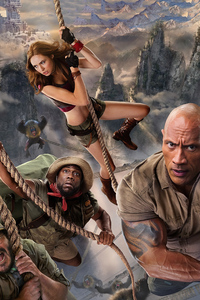 480x800 Jumanji The Next Level 2019 Movie
