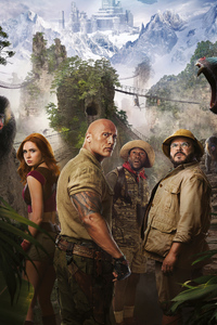 360x640 Jumanji The Next Level 2019 Poster 4k