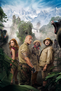 Jumanji The Next Level 8k
