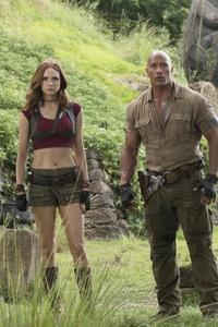 Jumanji Welcome To The Jungle Cast 5k