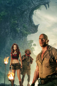 1440x2960 Jumanji Welcome To The Jungle China Poster 4k