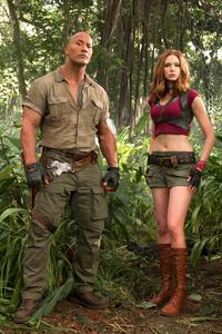 Jumanji Welcome To The Jungle Movie Cast 4k
