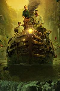 320x480 Jungle Cruise 2020 Movie