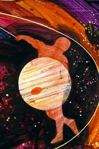 Jupiter Slingshot Abstract 4k