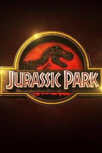 1080x2280 Jurassic Park Logo
