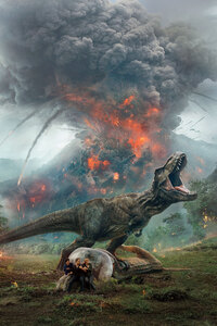 480x800 Jurassic World Fallen Kingdom 10k