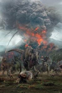Jurassic World Fallen Kingdom Key Art
