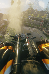 480x800 Just Cause 4 First Person Mode