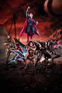1280x2120 Justice League 2017 Fan Artwork
