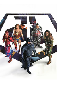 1280x2120 Justice League 2017 New