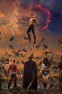 640x1136 Justice League 2019 4k