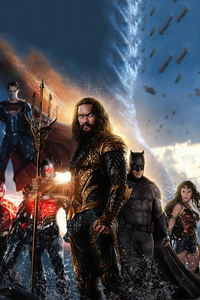 720x1280 Justice League 2020 Artwork 4k