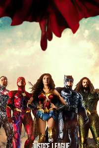 800x1280 Justice League 4k 2021