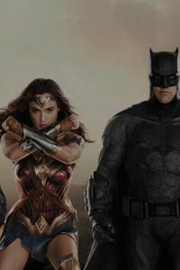1440x2960 Justice League 4k