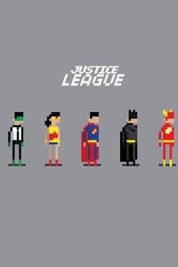 Justice League 8 Bit