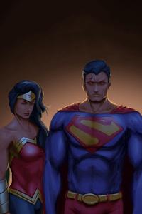 1080x2160 Justice League 8k Artwork