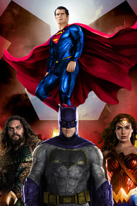 320x480 Justice League Amazing Artwork