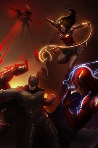 Justice League Art