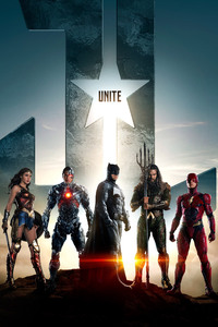 1080x2160 Justice League Batman Aquaman Flash Cyborg Wonder Woman
