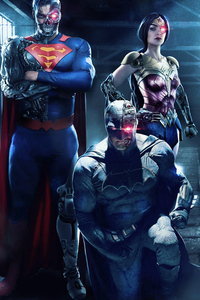 1440x2960 Justice League Dark Apokolips War Cosplay