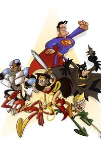 1440x2960 Justice League Dc Comic Artwork