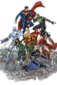 1440x2960 Justice League Dc Comic Artwork HD