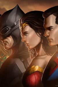1242x2688 Justice League Movie Artwork
