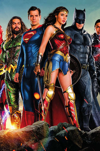 800x1280 Justice League Movie Poster