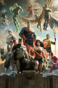 320x568 Justice League Of America 4k
