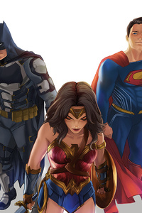 720x1280 Justice League Sketch Art